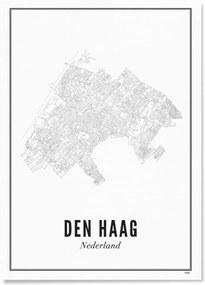 WIJCK- Den Haag Stad print