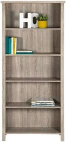 Boekenkast Titan - eikenkleur - 179,5x80x32 cm - Leen Bakker