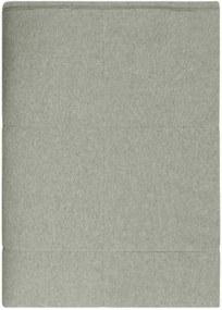 Sprei Boras, groen, olive, jersey katoen, 150 cm - 240 cm