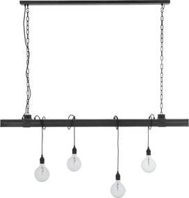 Goossens Hanglamp Linda, Hanglamp met 4 lichtpunten