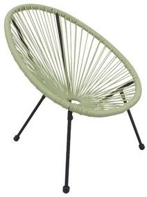 Kinderstoel Hawaii - groen - 60x60x61 cm