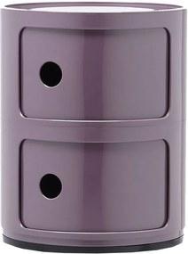 Kartell Componibili bijzettafel medium (2 comp.) paars