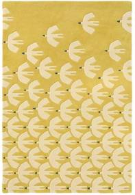 Scion - Pajaro Ochre 23906 - 140 x 200 - Vloerkleed
