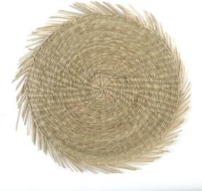 Placemat, zeegras, Ø 38 cm