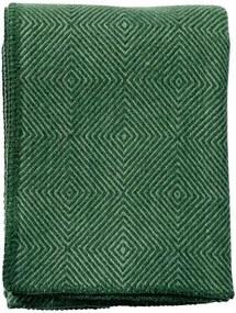 Plaid lamswol Nova: groen