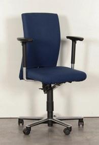 Bureaustoel Klöber, blauw, 3D armleggers