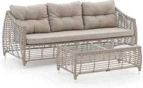 Manifesto Ortello lounge tuinbank 208cm incl. tafel - Laagste prijsgarantie!