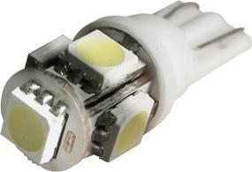Led lampen 5SMD T10 12v white per 2 stuks