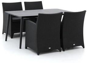 Forza Barolo/Sora 160cm dining tuinset 5-delig - Laagste prijsgarantie!