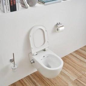 Wandcloset Sanilux Easy Flush Slim incl. Bidet 54 cm (incl zitting)