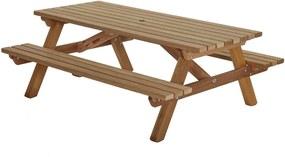 Picknicktafel hardhout 200cm