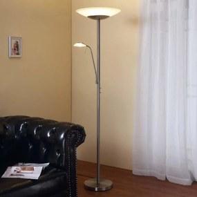 Ragna - LED staande lamp met ingebouwde leeslamp