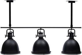 Rivièra Maison - Harlem Hanging Lamp black - Kleur: zwart