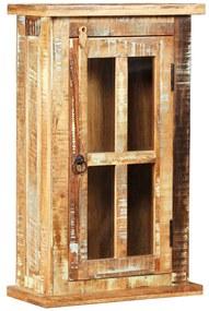 Wandkast 44x21x72 cm massief gerecycled hout