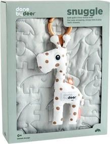 Quilt&Raffi giftbox 80x100 - Sleepy Grey - Babydeken