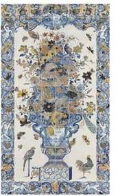 Rijksmuseum Muurdecoratie 112 x 196 cm - Tile Panel With Flower Still Life