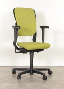 Bureaustoel 230, groen, 4D armleggers