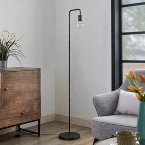 Brooke vintage-vloerlamp, roest antiek - lampen-24