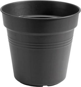 Bloempot Green basics kweekpot 35 cm living black elho