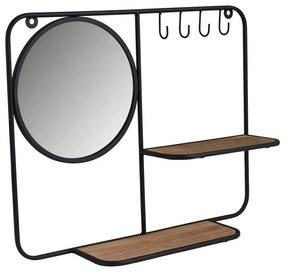 Wandrekje met spiegel - 11x40x50cm