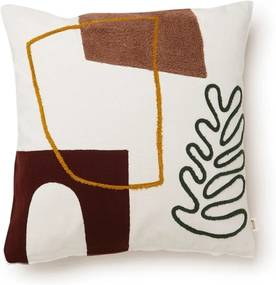 Ferm Living Mirage Cushion Leaf sierkussen 50 x 50 cm