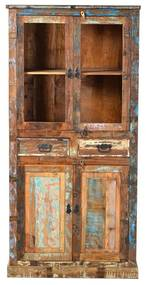 Buffetkast Gerecycled Sloophout - 90x40x180cm.