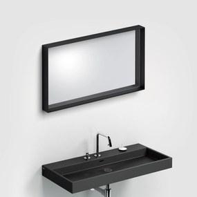 Clou Look at Me spiegel, 90cm, met omlijsting, mat zwart