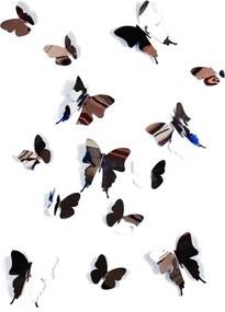 3D Vlinders - Spiegel Decoratie Sticker