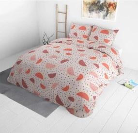 Sleeptime Elegance Watermelon - Roze 1-persoons (140 x 220 cm + 1 kussensloop)