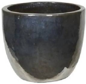 Bloempot Round Metal