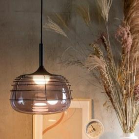 Zuiver Smokey Black Design Hanglamp Met Rookglas