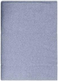 Sprei Boras, blauw, jeans, jersey katoen, 150 cm - 240 cm