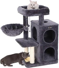 Nancy's Krabpaal met Hangmat en Speeltje - Speelhuis Voor Katten -  90CM