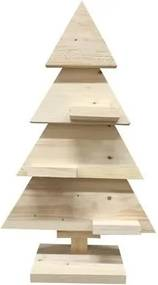 Kerstboom hout naturel