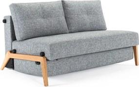 Innovation Living Cubed 140 Wood Design Slaapbank Met Hout-565 Graniet - 565