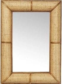 Kare Design Bamboo Rotan Wandspiegel - 65x90cm