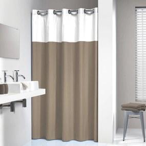 Douchegordijn Textiel Double 200 x 180cm Linnen