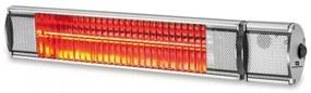 Kemper Heater - Infraroodlamp - Terrasverwarmer - voor binnen en buiten - 2000W - 24m² - IP55 - Met afstandsbediening