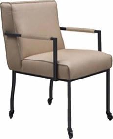 Eetkamerstoel Leder of Stof Fons Chair
