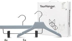 YourHanger Kids hanger box grijze