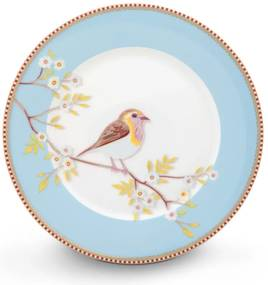 Floral ontbijtbord ø 20cm
