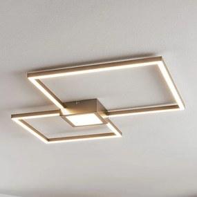 LED plafondlamp Duetto, vierkantjes - lampen-24