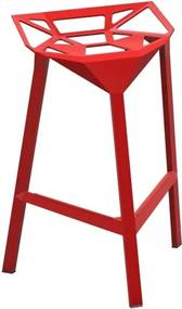 Magis Stool One barkruk medium rood