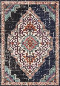 Safavieh | Vloerkleed Joeri 120 x 170 cm zwart, blauw vloerkleden polypropyleen vloerkleden & woontextiel vloerkleden | NADUVI outlet