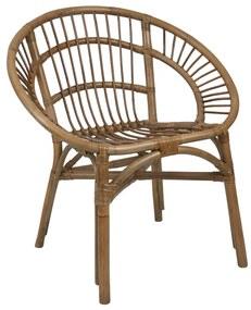 Rotan stoel Kubu - 70x63x77 cm