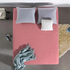 Home Care HC Dubbel Jersey Hoeslaken - Roze 140 x 200/220