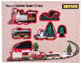 Kersttrein Santa - met muziek en verlichting