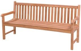 Teak houten tuinbank Bison - 180 cm.