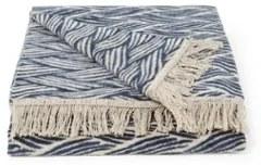 Claudi Giada plaid van katoenblend 150 x 200 cm