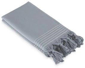 Walra Soft Cotton Hamam Gastendoek set van 2 30x50cm 360 g/m2 Blauw 1215288